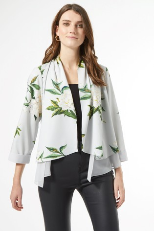 Dorothy Perkins Floral Waterfall Coverup