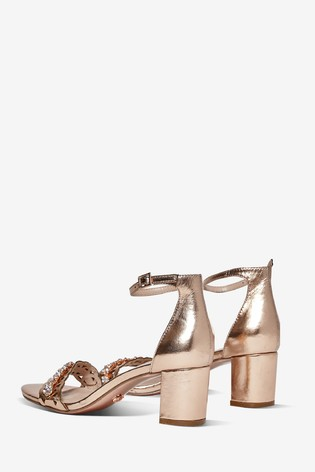 Dorothy Perkins Solange Jewelled Heeled Sandals