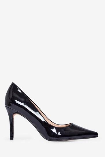 Dorothy Perkins Black Dele Court Shoe