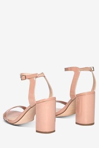 Dorothy Perkins Shimmer Heeled Sandal