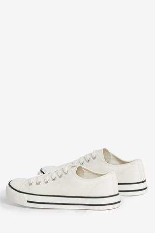 Dorothy Perkins White Icon Trainers