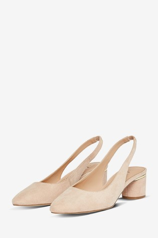 Dorothy Perkins Wide Fit Court Shoe