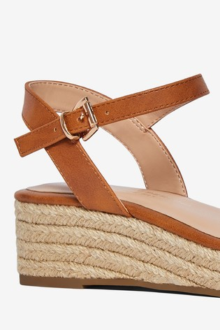 Dorothy Perkins Wide Fit Rhianna Espadrille Sandals