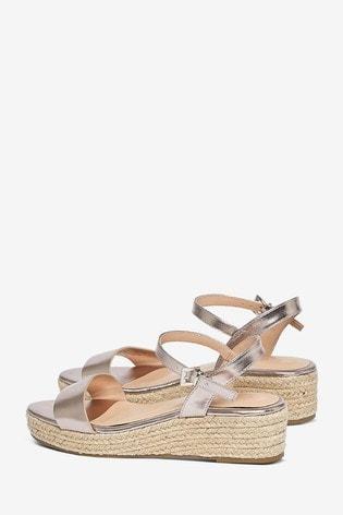 Dorothy Perkins Wide Fit Rhianna Espadrille Sandals