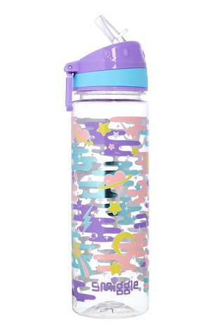 Smiggle Purple Far Away Drink Bottle