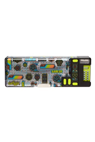 Smiggle Black Far Away Pop Out Pencil Case