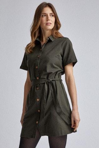 Dorothy Perkins Linen Shirt Dress
