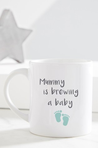 Personalised Baby Brewing Mug by Gift Collective
