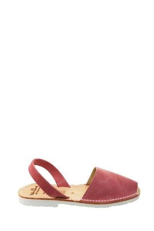 Palmaira Sandals Pink Flat Sandals