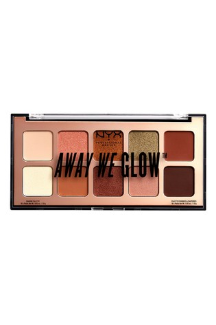 NYX Professional Make Up Away We Glow Shadow Palette