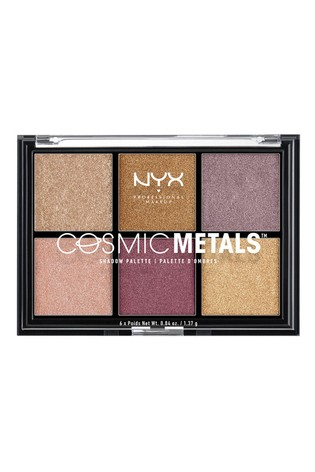 NYX Professional Make Up Cosmic Metals Shadow Palette