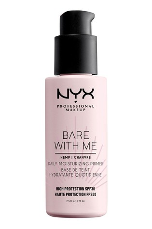 NYX Professional Make Up Bare With Me Cannabis Sativa Seed Oil SPF 30 Daily Moisturising Primer