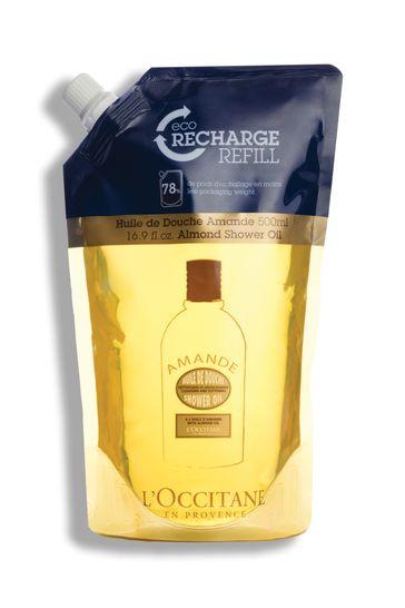 L'Occitane Almond Shower Oil Eco Refill 500ml