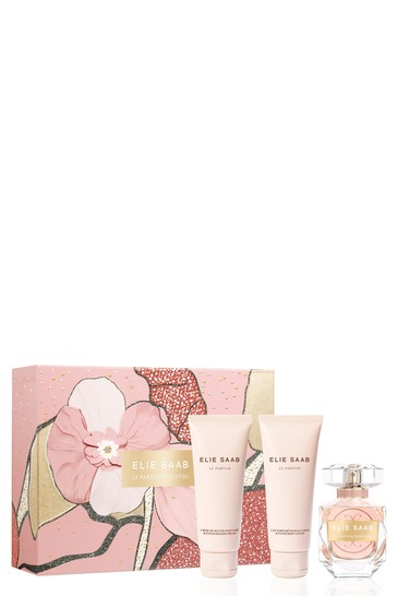 ELIE SAAB Le Parfum Essentiel Set  Eau de Parfum 50ml + Body Lotion 75ml + Shower Gel 75ml