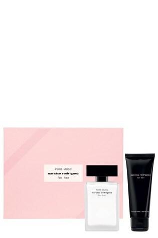 Narciso Rodriguez For Her PURE MUSC Eau de Parfum Set Eau de Parfum 50ml, Body Lotion 75 ml