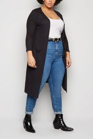 New Look Rib Pocket Cardigan
