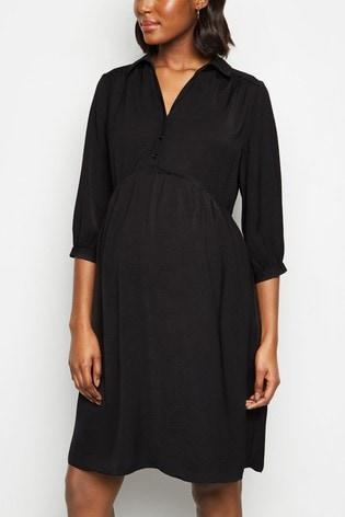 New Look Maternity Tier Smock Dress