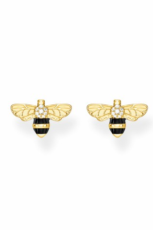 Thomas Sabo Yellow Gold Bee Studs