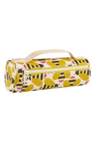 Orla Kiely Busy Bee Brush and Pencil Case