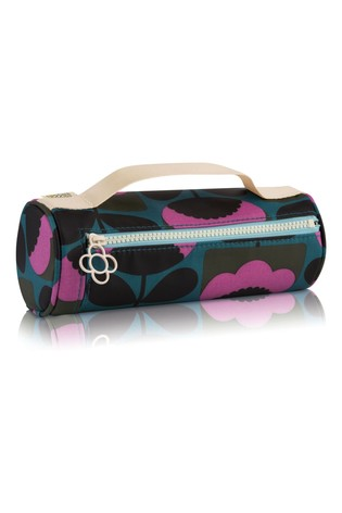 Orla Kiely Floral Bloom Brush and Pencil Case
