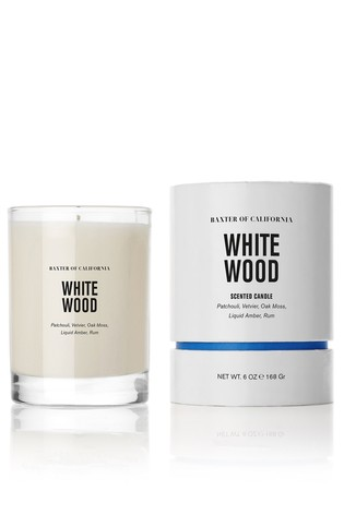 Baxter of California White Wood Candle 168g