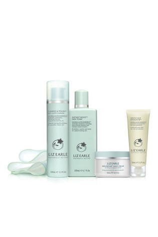 Liz Earle Your Daily Routine Kit - Light Cream