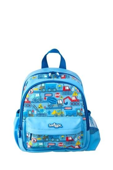 Smiggle Blue Topsy Teeny Tiny Backpack