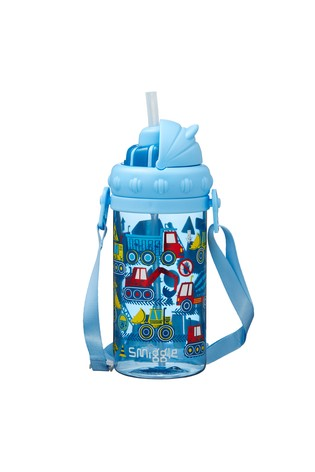 Smiggle Blue Topsy Teeny Tiny Bottle With Strap