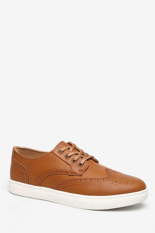 Threadbare Peterson Brogues