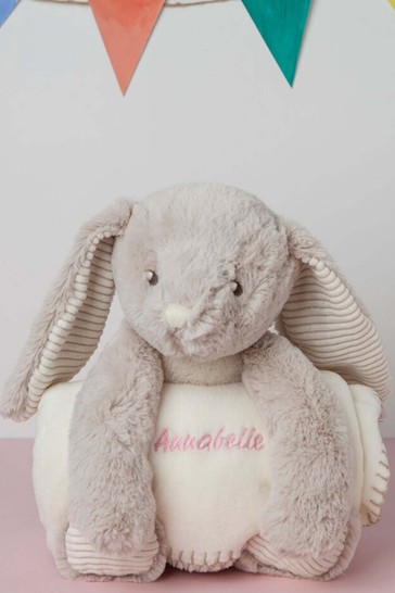 Personalised Bunny Blanket By Percy & Nell