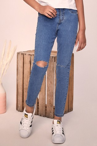 Lipsy Authentic Blue Skinny Jeans