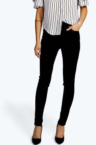 Boohoo Super High Waisted Skinny Jean