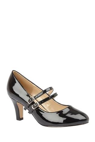 Lotus Heeled Shoes