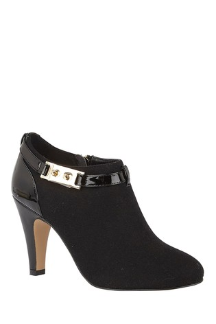 Lotus Footwear Black Shoe Boot