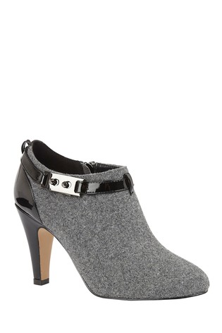 Lotus Footwear Grey Shoe Boot