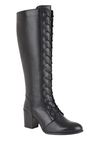 Lotus Lace Leg Boot