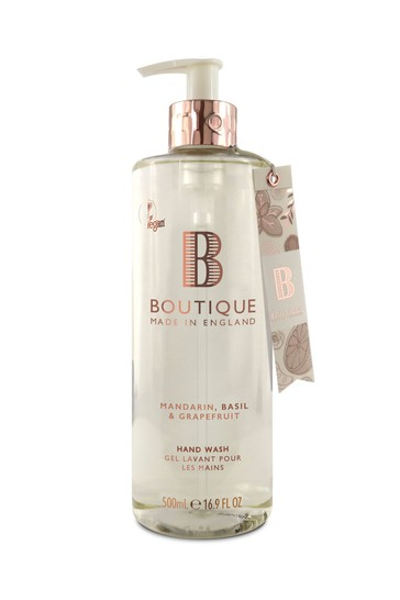 Boutique from The English Bathing Company Hand Wash 500ml
