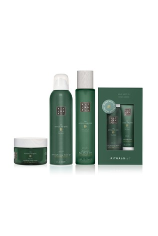 Rituals The Ritual of Jing Foaming Shower Gel, Body Cream, Hair and Body Mist Bundle with Gift  (Worth: £55.50)