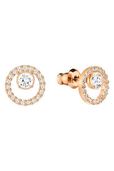 Swarovski Creativity Circle Pierced Earrings