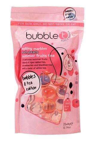 Bubble T Bath Pearls Summer Fruits Tea 25 x 4g