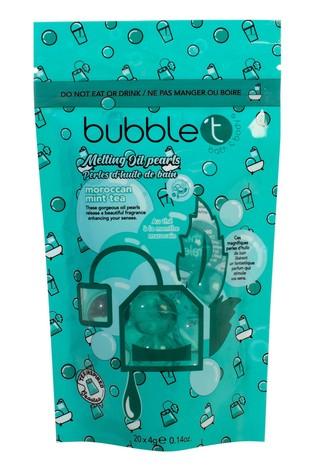 Bubble T Bath Pearls Moroccan Mint Tea 20 x 8g