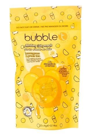 Bubble T Bath Pearls Lemongrass & Green Tea 20 x 8g