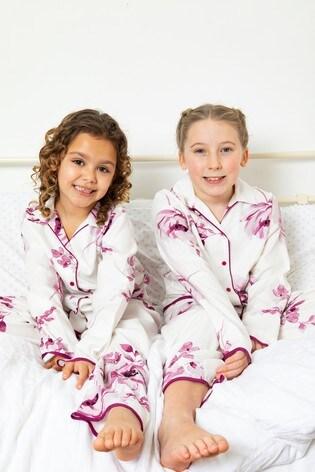 Minijammies White Long Sleeve PJ Set