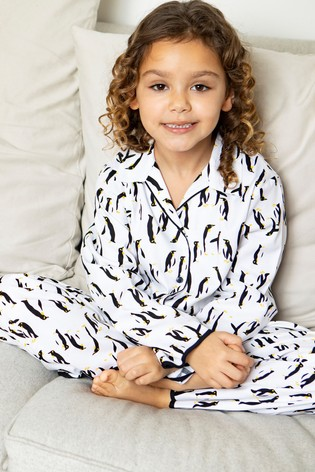 Minijammies Monochrome Long Sleeve PJ Set