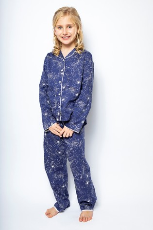 Minijammies Navy Long Sleeve PJ Set
