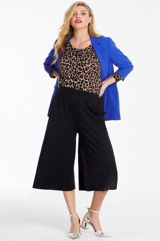 Simply Be Stretch Jersey Culottes