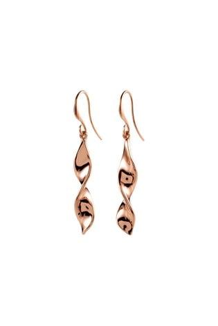 PILGRIM Rose Gold Elaine Plated Earring