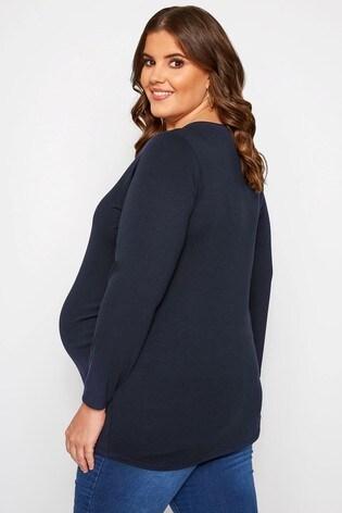 Bump It Up Royal Maternity Short Sleeve T-Shirt