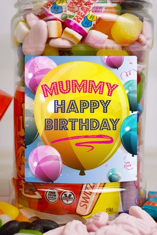 Personalised Sweet Jar by Great Gifts