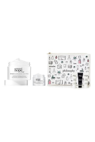 Philosophy Renewed Hope in a Jar and Renewed Hope in a Jar Eye Cream Bundle with Gift